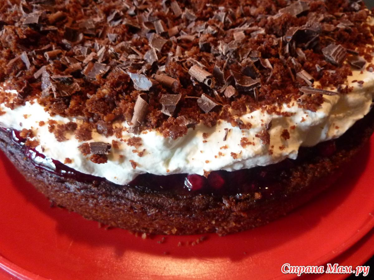 Рецепт шоколадно орехового торта
