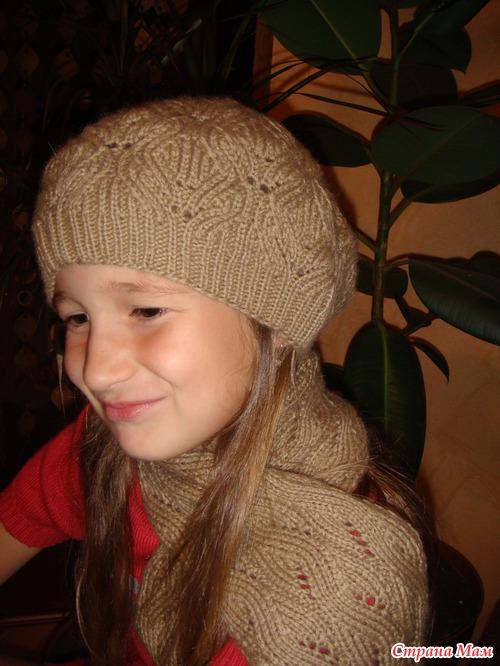 Школа вязания светланы коломиец шапка 91