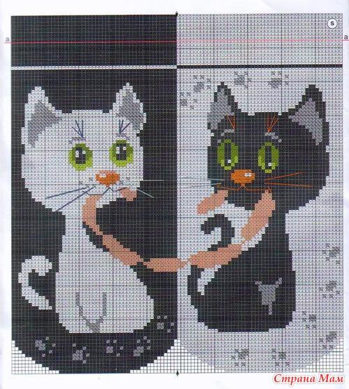 Ищу схему вышивки для вязания