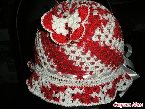 Шляпка с бабочкой