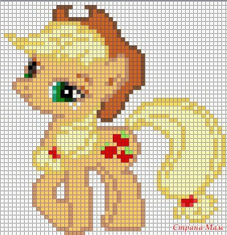 My little pony - Вышивка и
