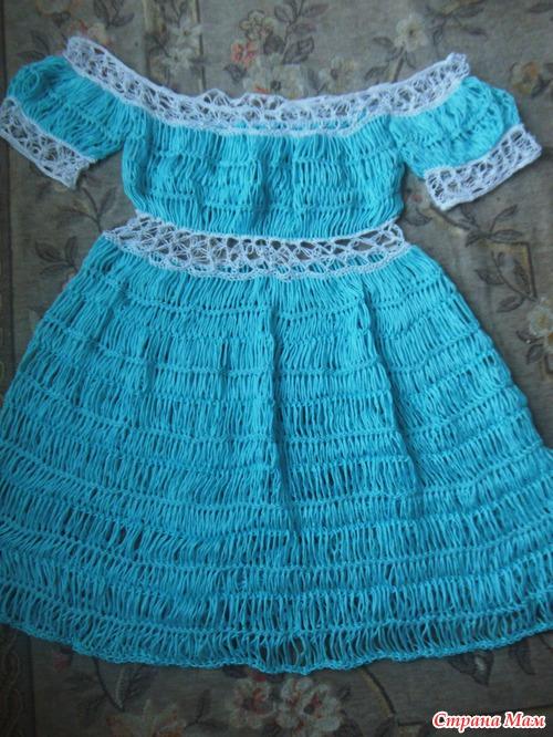 летнее платье на вилке!