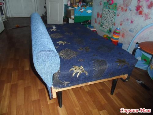 Из старого дивана сделать новый своими руками