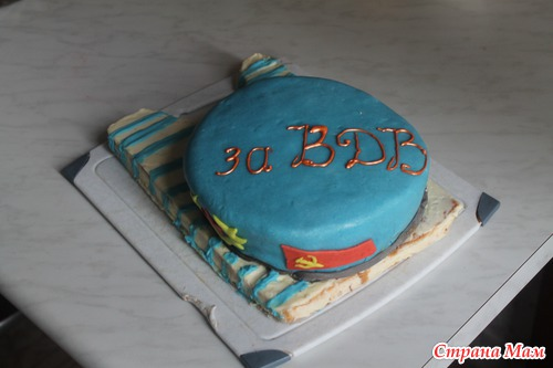 Торт вдв фото