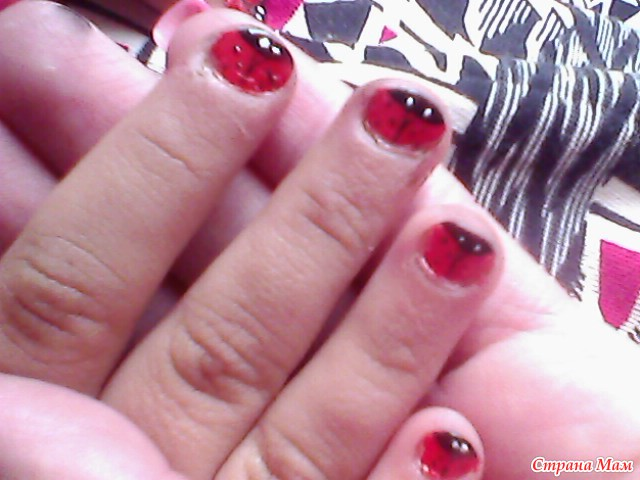 фото легкие рисунки на ногтях