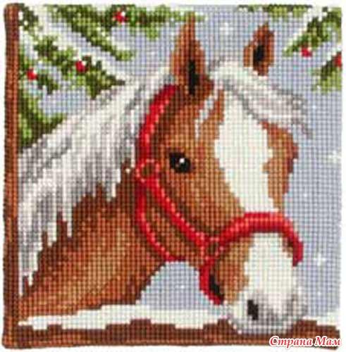 Лошадки от Vervaco