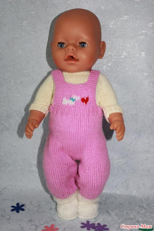 Как связать одежду для кукол спицами для начинающих