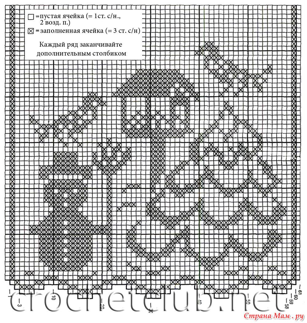 схемы фелейного вязания