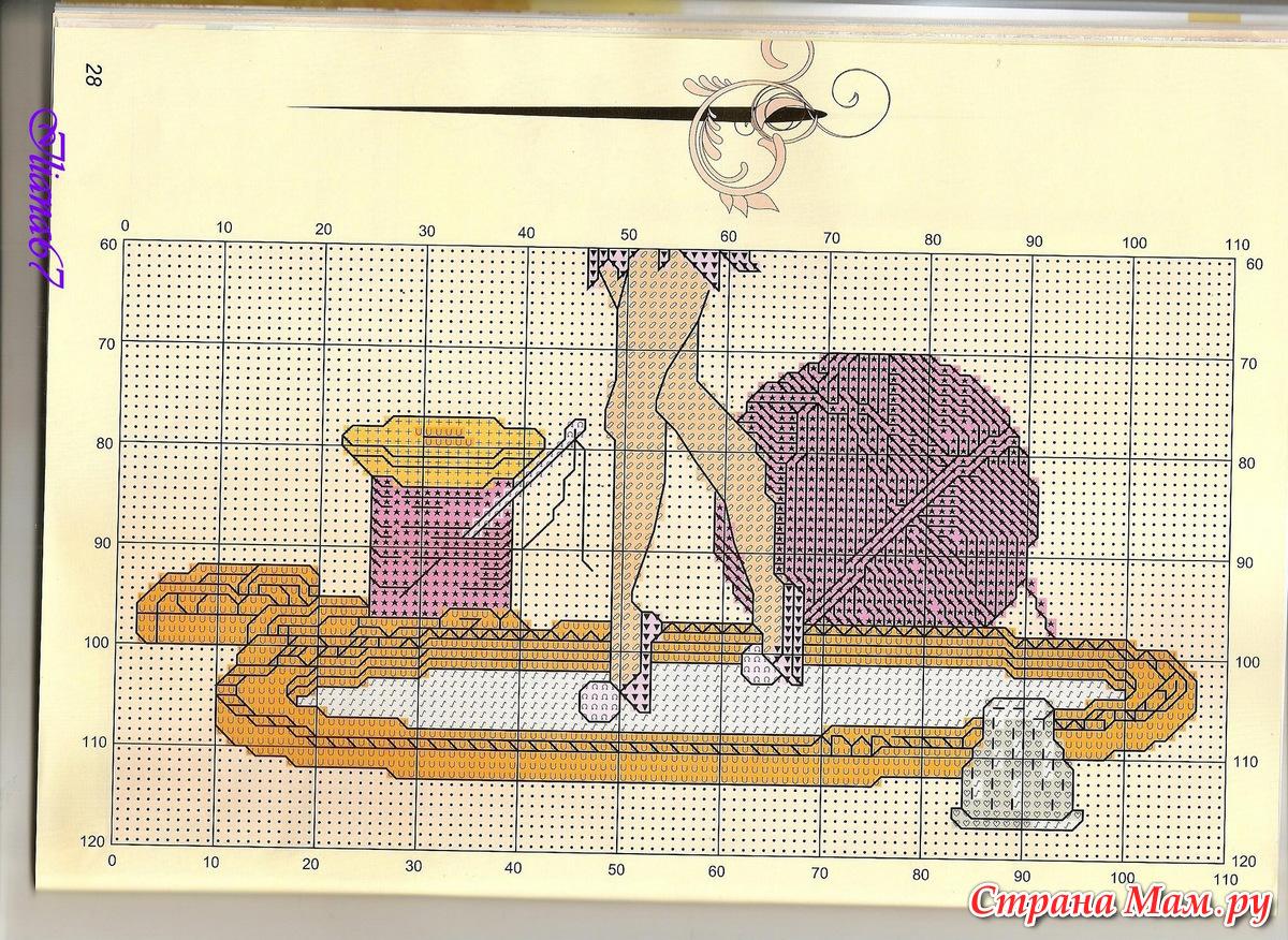Схемы вышивки от мастериц 988