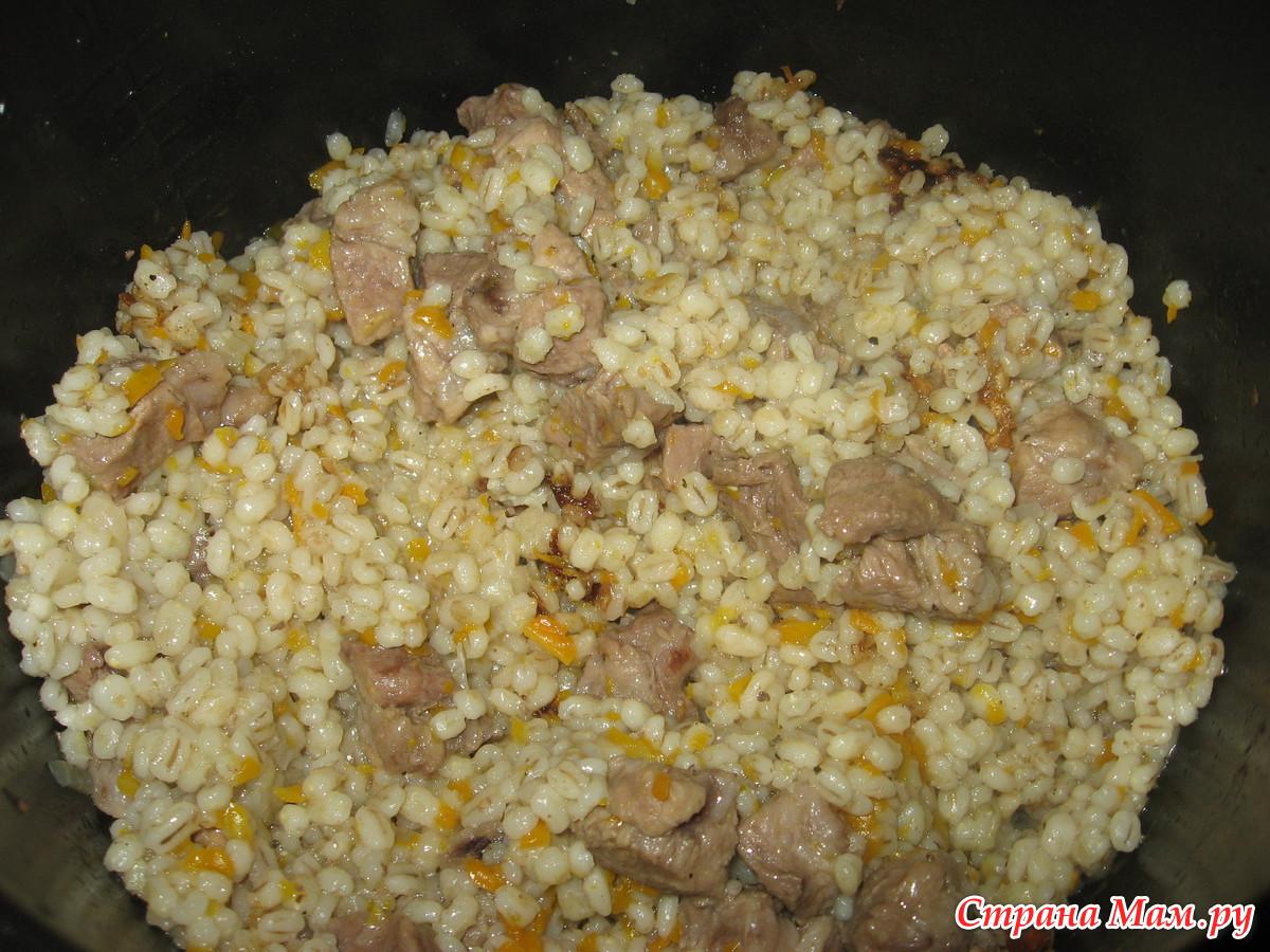 Рисовая каша с мясом в мультиварке рецепты с пошагово