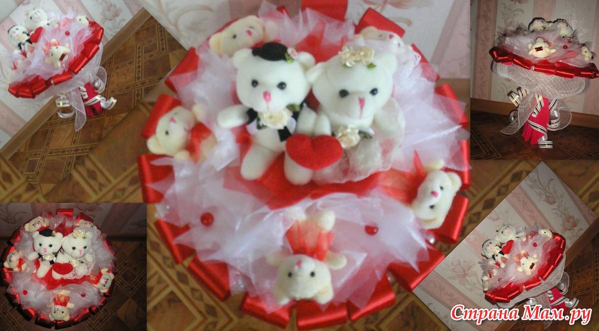 Букет из мягких игрушек на свадьбу своими руками фото рисунок на 8 марта маме карандашом цветы
