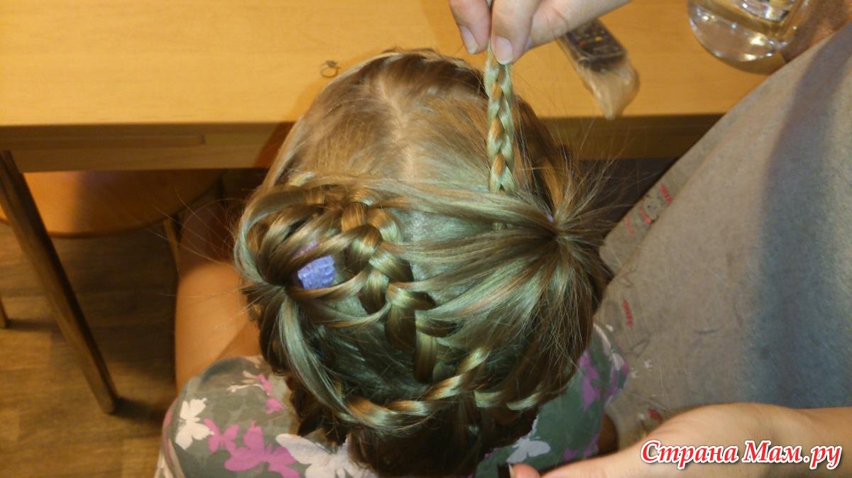 Причёски на длинные волосы фонтан
