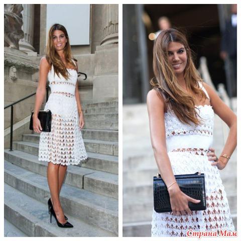Платье по мотивам D&G