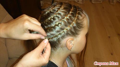 7 вариантов как сделать красивый пучок из волос для волос средней длины