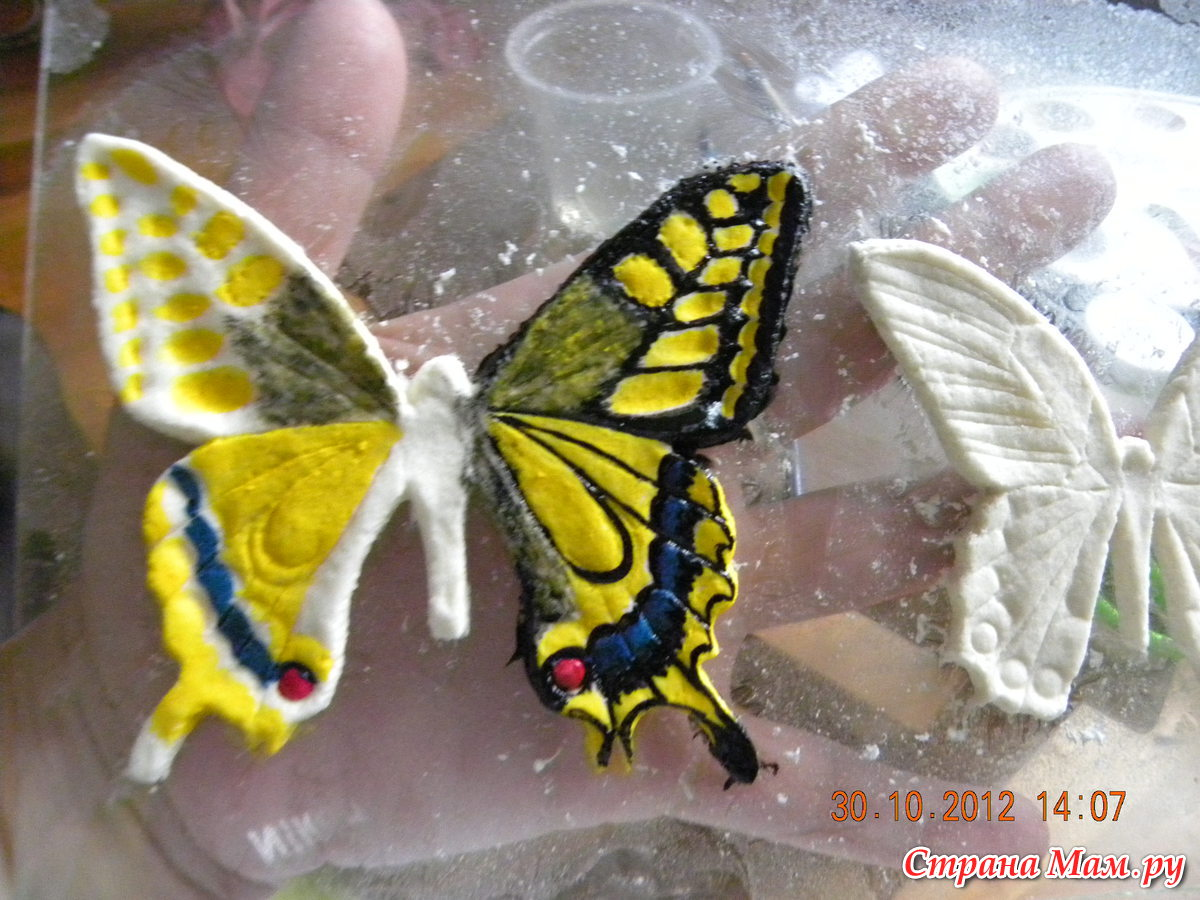 Бабочка фигура из фольги своими руками