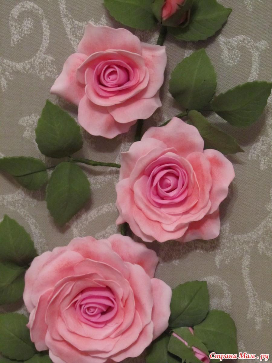 Роза из замши своими руками мастер класс