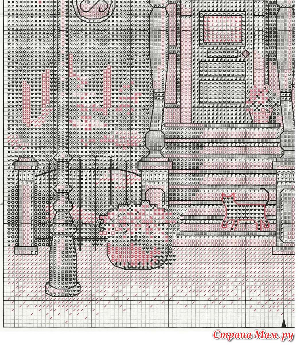 Викторианский шарм вышивка схема 82