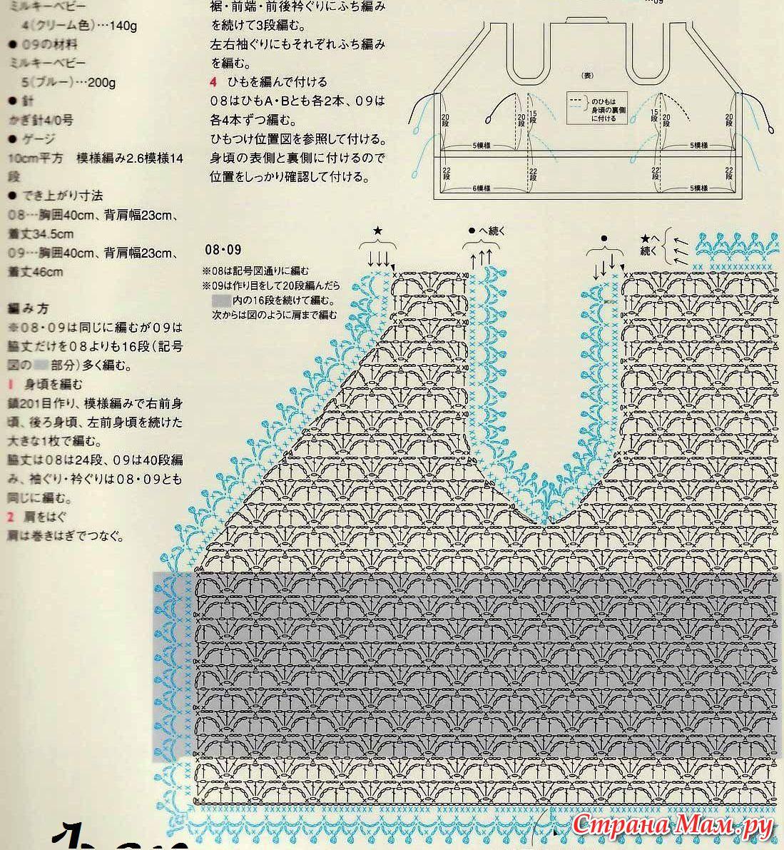 Безрукавка для новорожденного крючком схема и описание