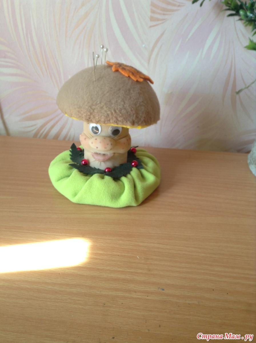Как сделать мягкие грибы