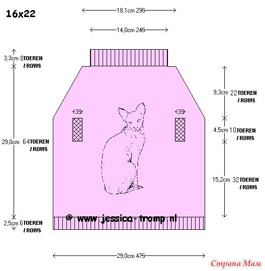 Выкройки одежды для кошек сфинксов своими руками