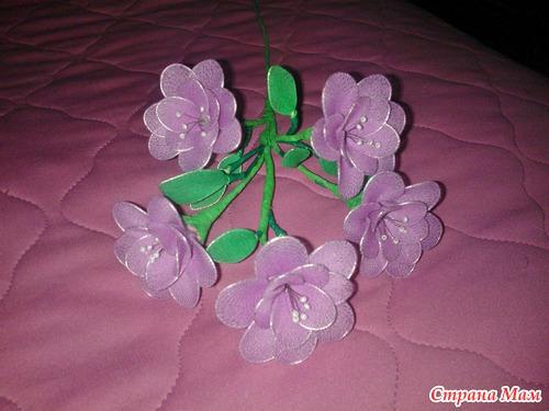 Цветы из капрона как сделать - Компания Экоглоб