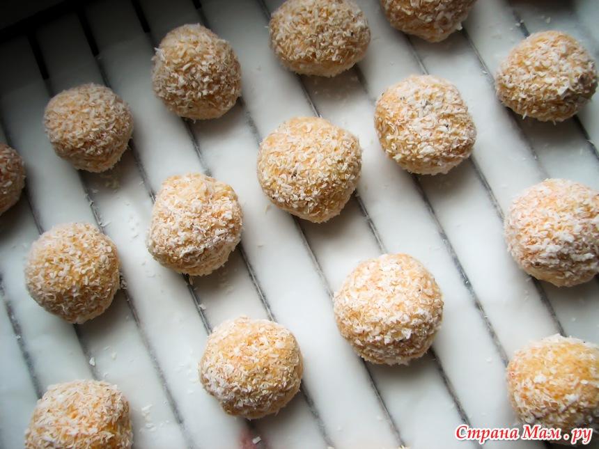 Печенье рафаэлло рецепт с фото