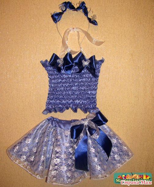Новогодние костюмы для девочек - Страна Мам