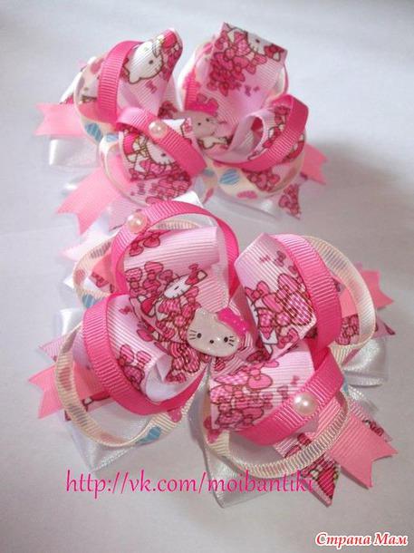 Нарядные бантики маленьким принцессам! Заходите)))
