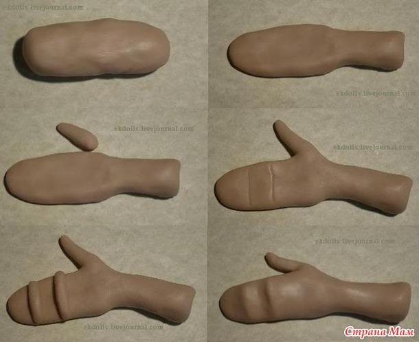 Как лепить из глины своими руками