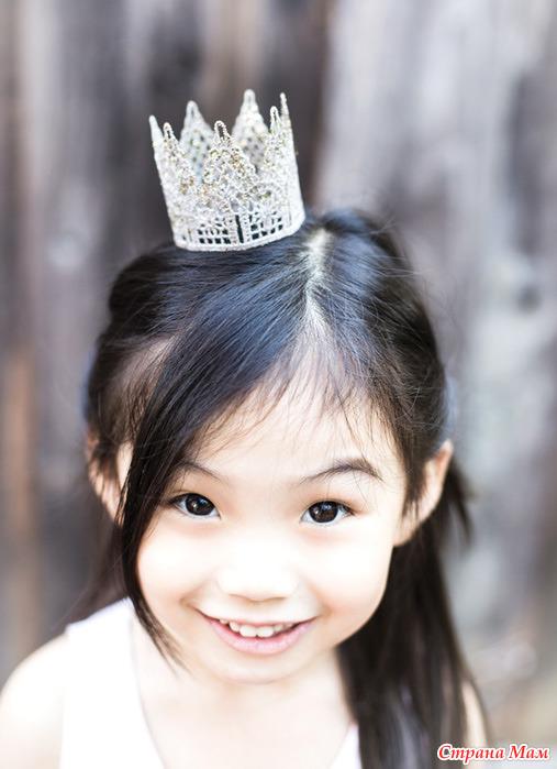 Маленькая корона на голову
