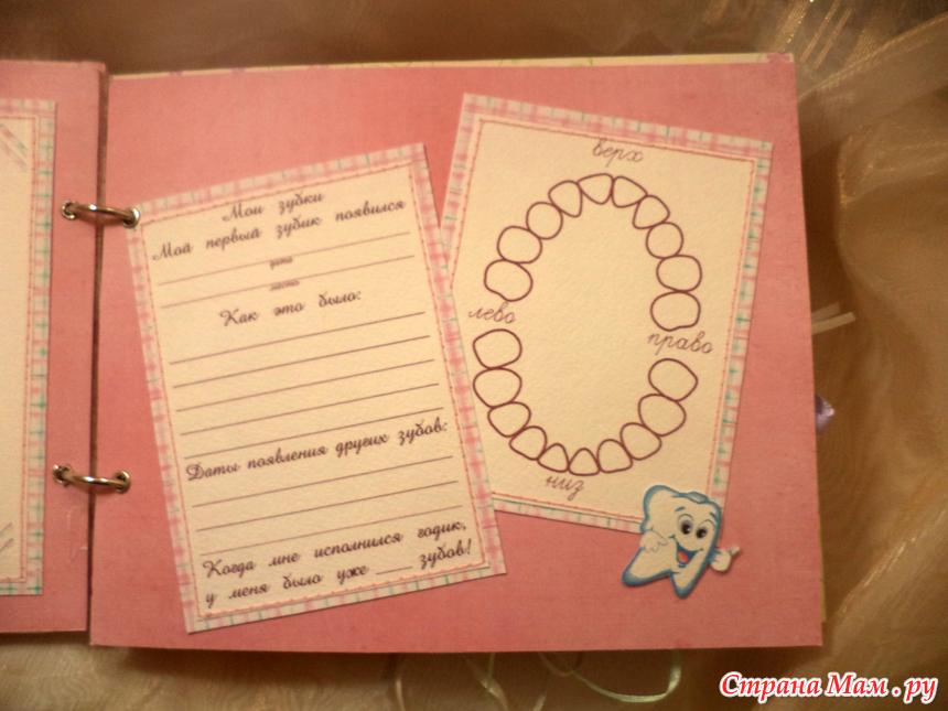 Дневник для новорожденных своими руками 72