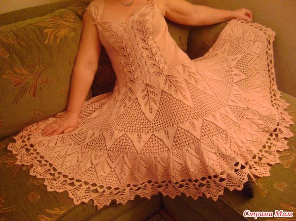 Платье цвета сухой розы