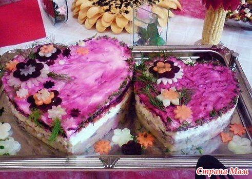 селедка под шубой рецепт с фото оформление