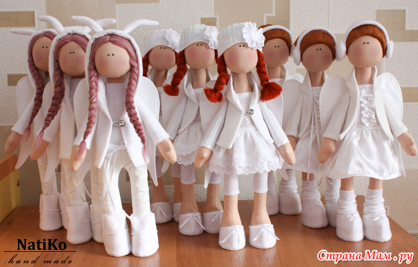 Куколка из ткани простая своими руками 100