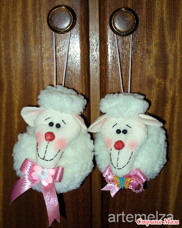 Поделка игрушка овечка своими руками