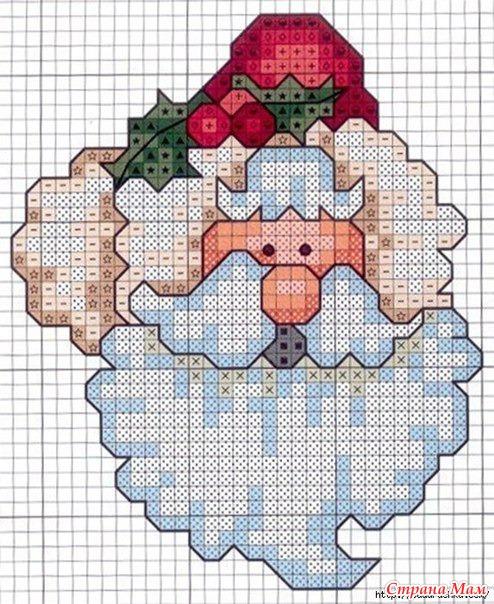 Схемы вышивки страна мам новогоднее