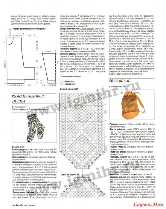 Вязание журнал бурда с описанием