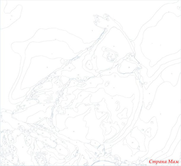 схем для рисования по