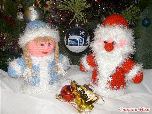 Снегурочки своими руками на новый год