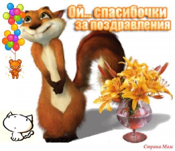 Ответное слово к поздравлениям с днем рождения