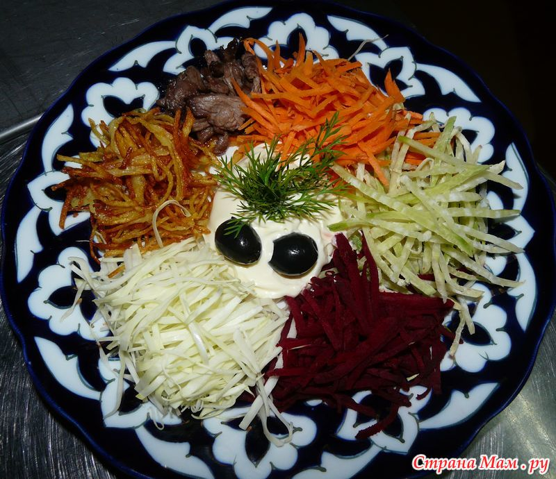Салат французский со свеклой рецепт