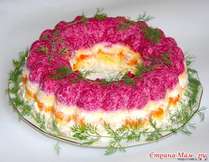 Фото селедка под шубой салат