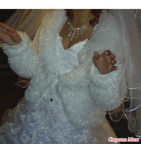 Как вязать свадебные накидки