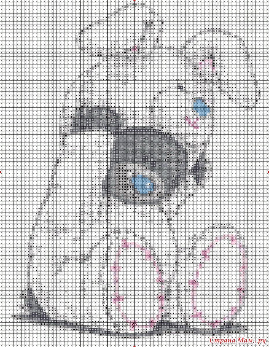 Схемы вышивки крестом мишки тедди свадьба 13