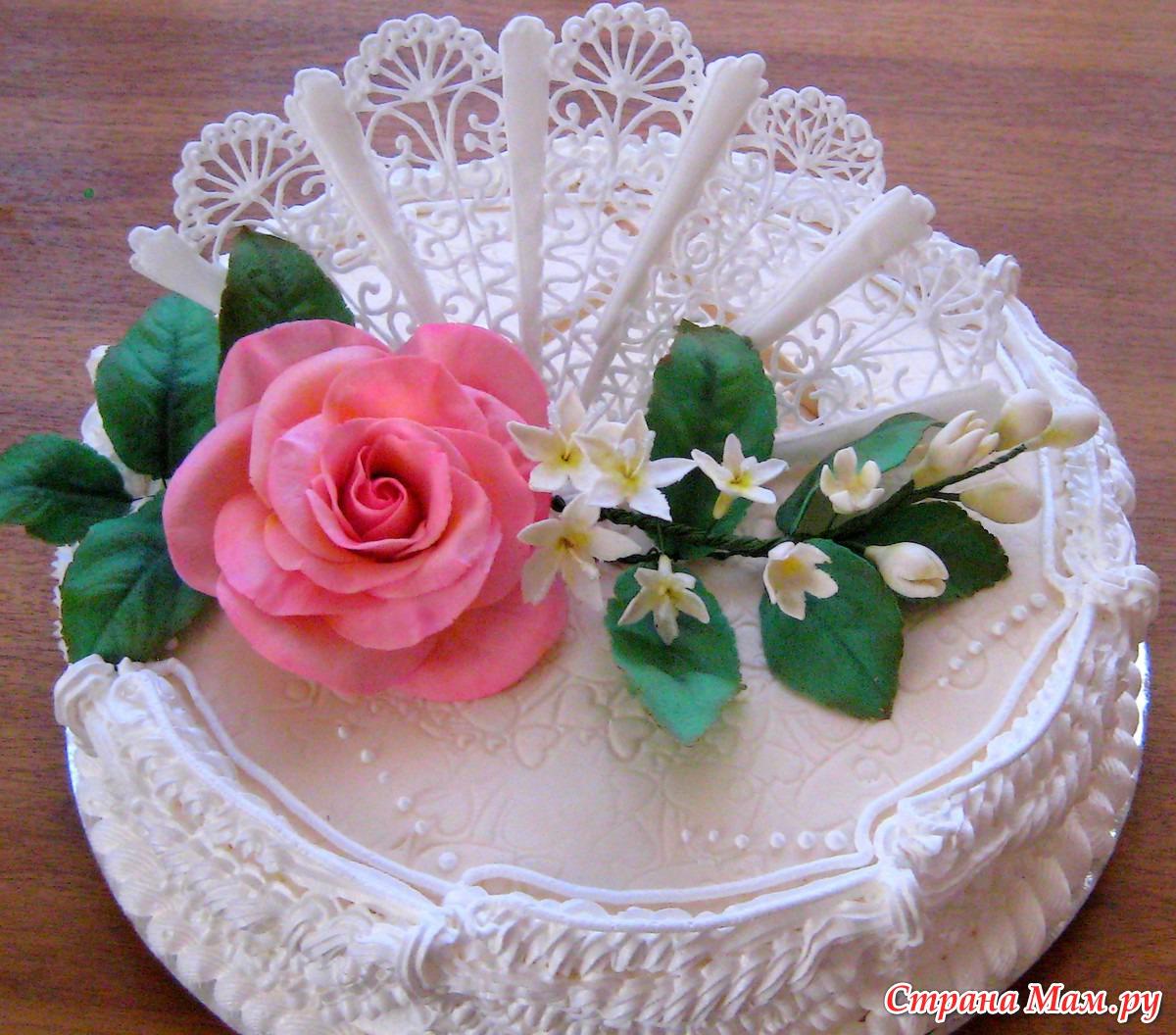 Профессиональные украшения для торта фото
