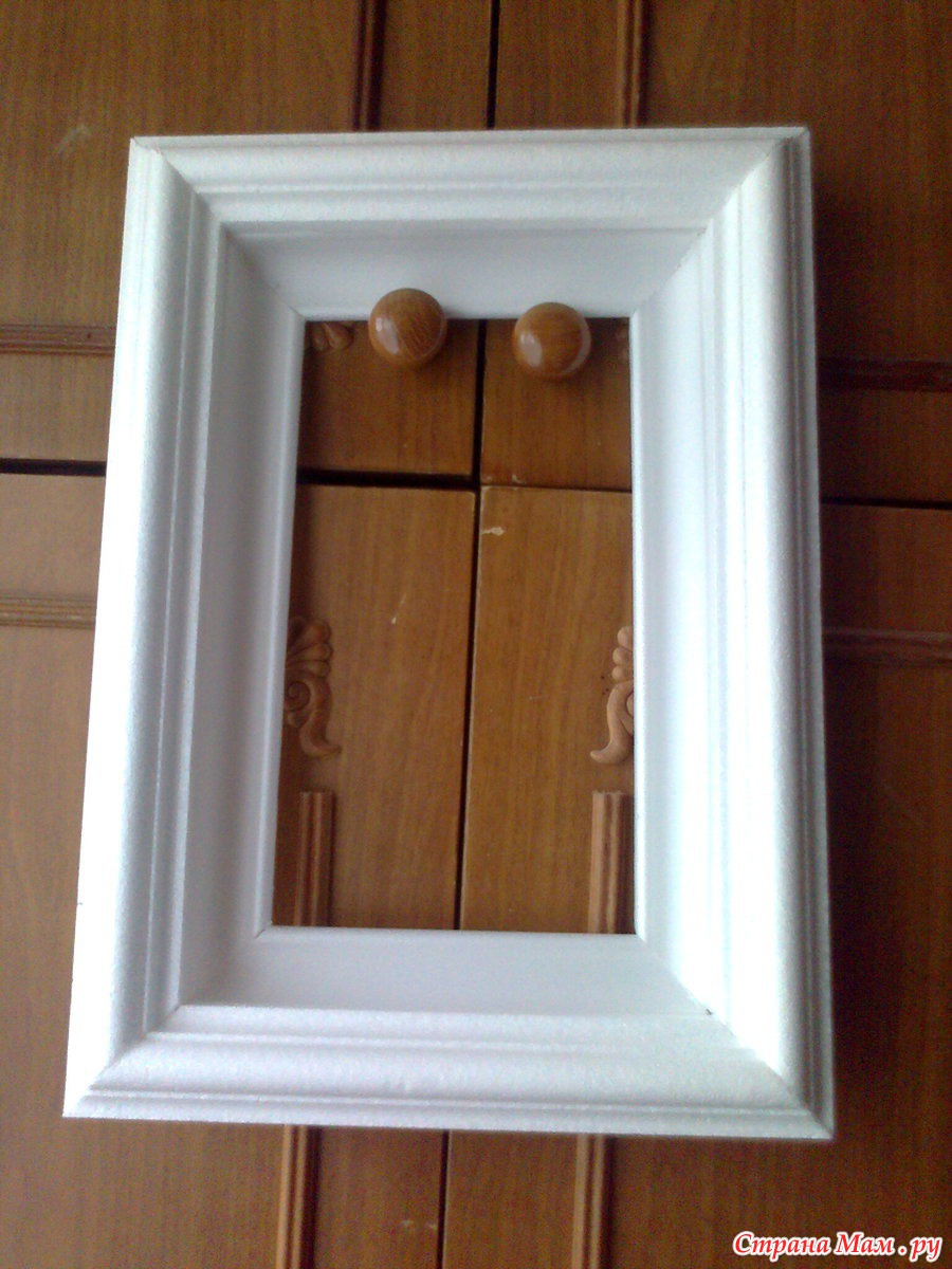 Рамки для зеркала из потолочного плинтуса своими руками фото