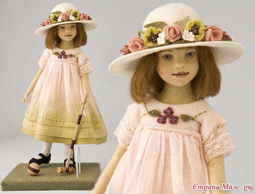 Куклы из текстильные своими руками