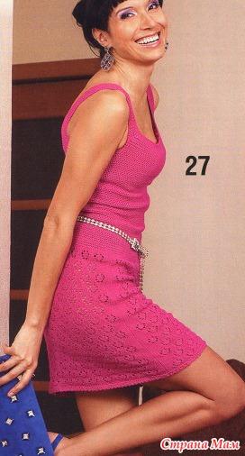 Модель из журнала Sandra