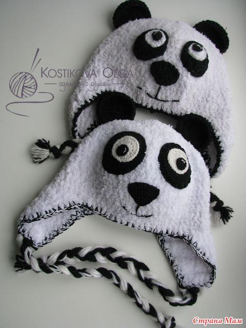 МК комплекта Панда из Puff от Lanoсo