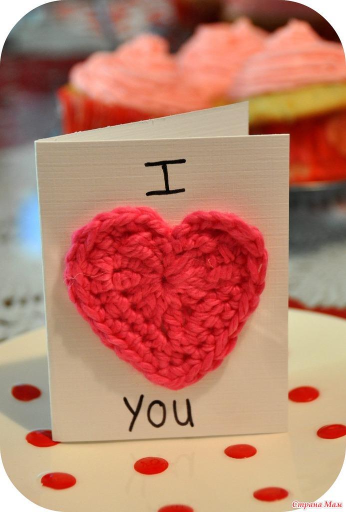 Валентинки на день влюбленных своими руками